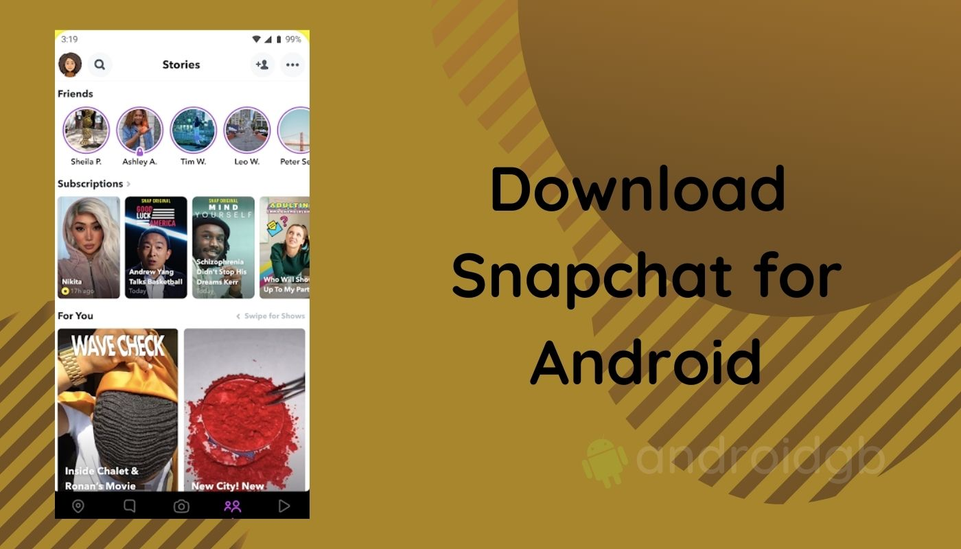 Download Snapchat Latest 11 18 0 19 Apk 2021 Update